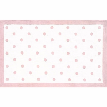 The Rug Market Rug - Polka Dots in Pink