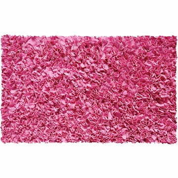The Rug Market Shaggy Rug in Bubble Gum