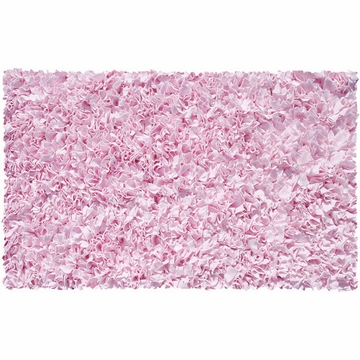 The Rug Market Shaggy Rug in Pink