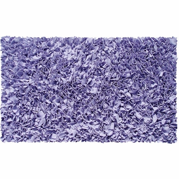 The Rug Market Shaggy Rug in Purple