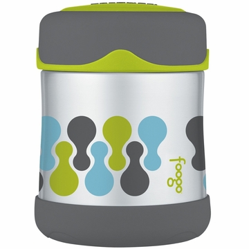 Thermos Foogo Leak-Proof Stainless Steel Food Jar - 10 Ounce - Tripoli