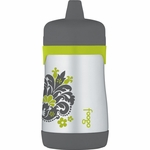 Thermos Foogo Leak-Proof Stainless Steel Sippy Cup - 10 Ounce - Tripoli