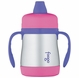 Thermos Foogo Leak Proof Stainless Steel Sippy Cup - 7 Ounce - Pink/Purple