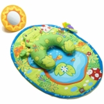 Tiny Love Tummy Time Fun Frog Pillow & Mat