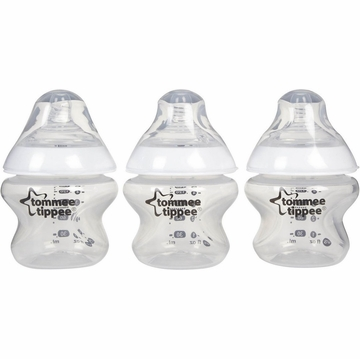 Tommee Tippee 5 Ounce Feeding Bottles - 3 Pack