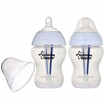 Tommee Tippee 9 Ounce Anti-Colic Bottles - 2 Pack