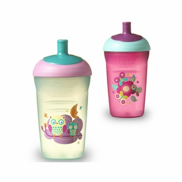Tommee Tippee Truly Spill Proof Sporty Bottle - 2 Pack (Colors Vary)