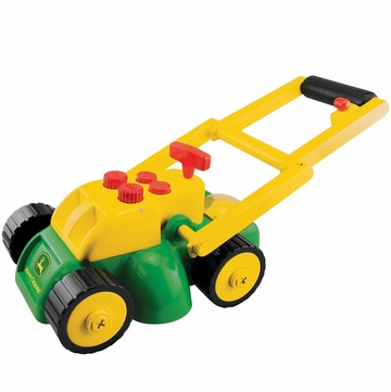 TOMY John Deere Electronic Real Sounds Lawn Mower
