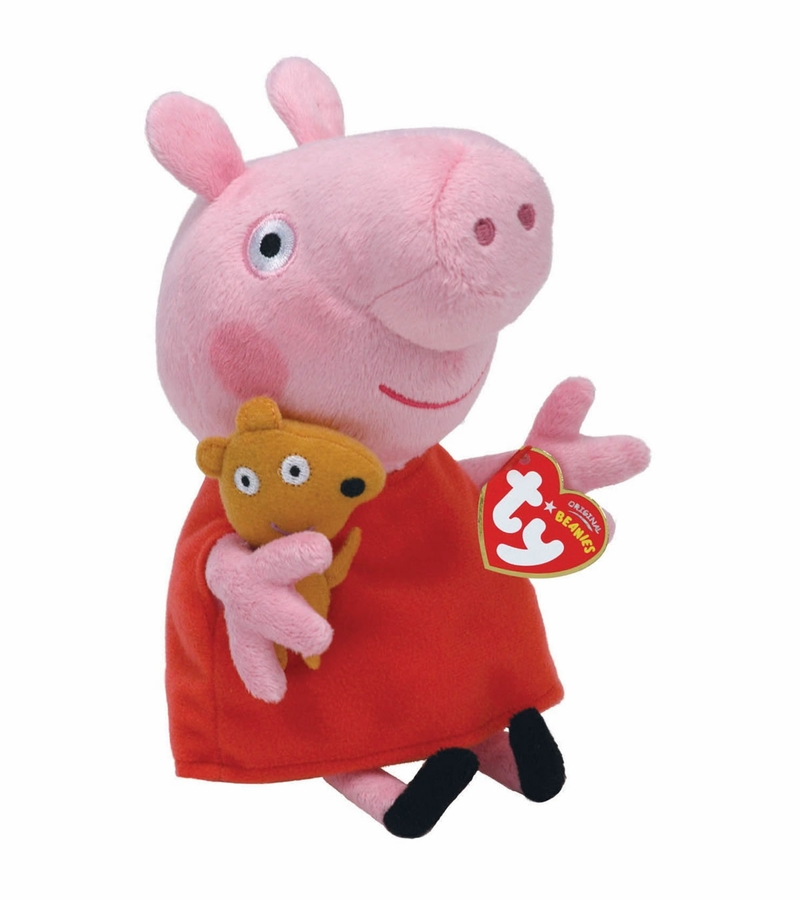 Ty Beanie Babies Peppa Pig Peppa 8 Quot