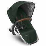 UPPAbaby 2017 RumbleSeat - Austin (Hunter/Silver/Leather)