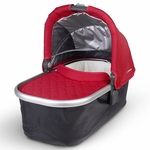 Uppababy Bassinet - Denny (Red/Silver)