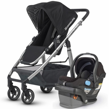 Uppababy Cruz & Mesa Travel System - Black