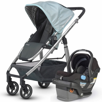 Uppababy Cruz & Mesa Travel System - Blue/Black