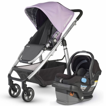 Uppababy Cruz & Mesa Travel System - Lavender/Black