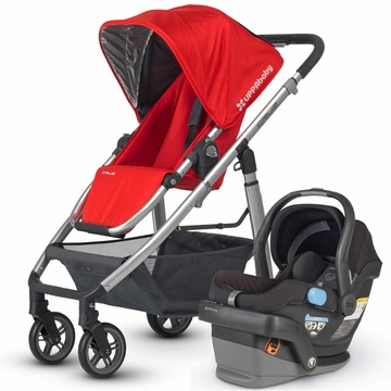 Uppababy Cruz & Mesa Travel System - Red