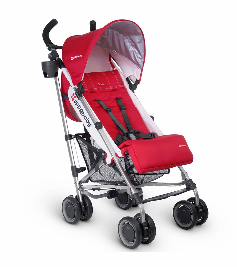 UPPAbaby G-LUXE Stroller - Denny (Red/Silver)