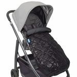 Uppababy Ganoosh Footmuff - Jake (Black)