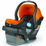 UppaBaby MESA Infant Car Seat in Drew (Tangerine)