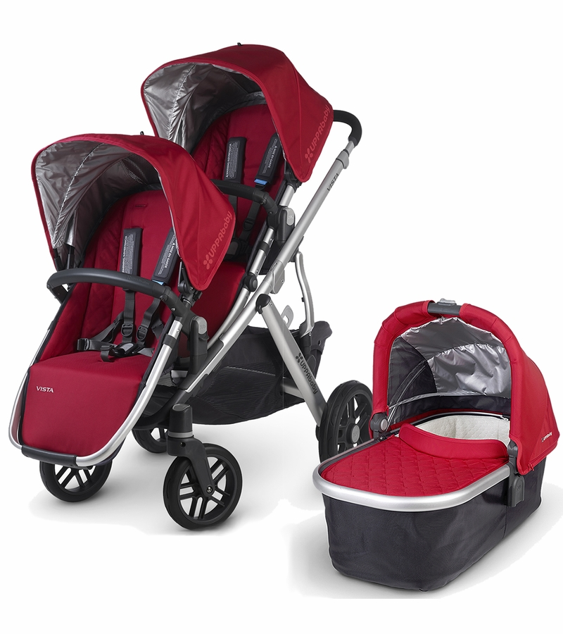 Uppababy Vista 2015 Double Stroller Denny