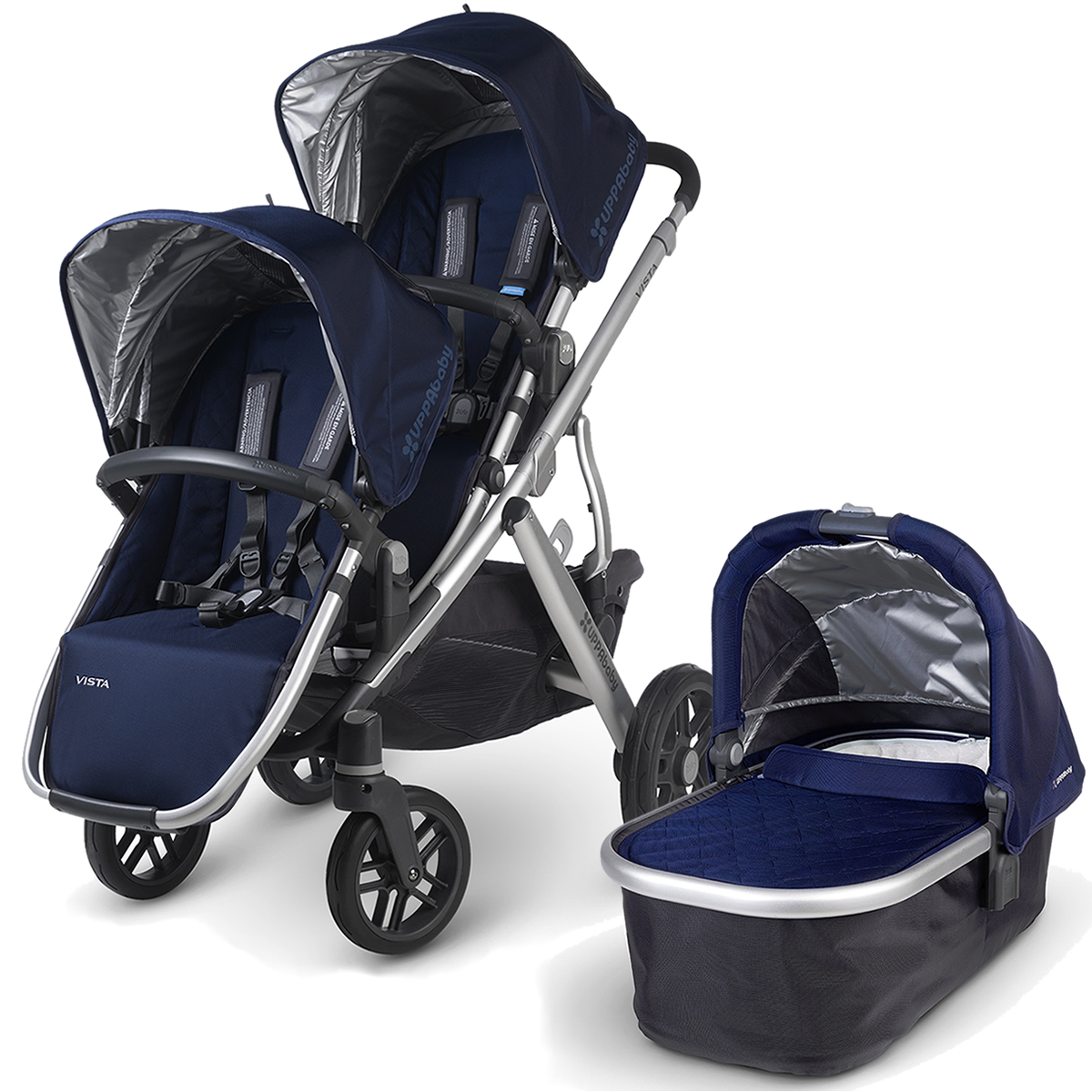 Uppababy VISTA 2015 Double Stroller - Taylor