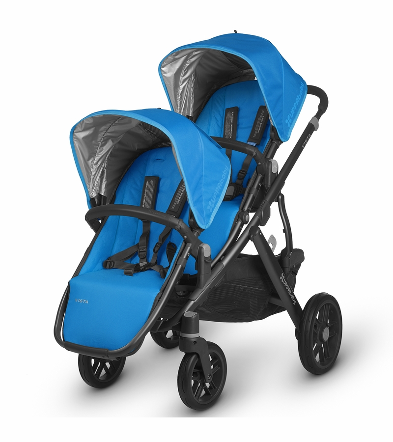 Uppababy Vista 2015 Rumbleseat Georgie Marine Blue Carbon