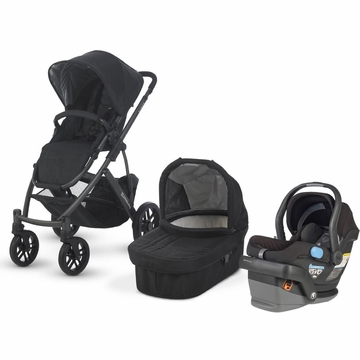 Uppababy Vista & Mesa Travel System - Black