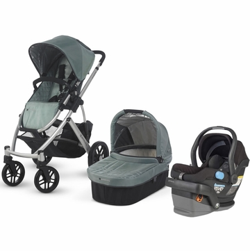 Uppababy Vista & Mesa Travel System - Green/Black