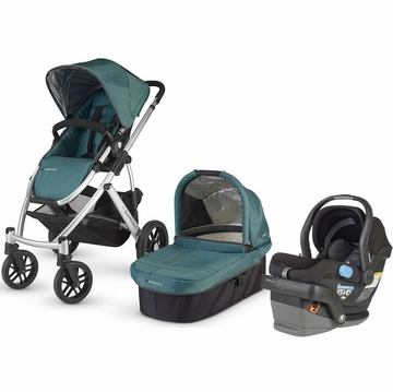 Uppababy Vista & Mesa Travel System - Jade/Black