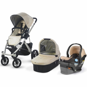 Uppababy Vista & Mesa Travel System - Wheat