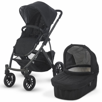 UppaBaby Vista Stroller Jake (Black with Graphite Frame)