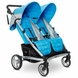 Valco 2013 Zee Two Double Stroller - Cloudless
