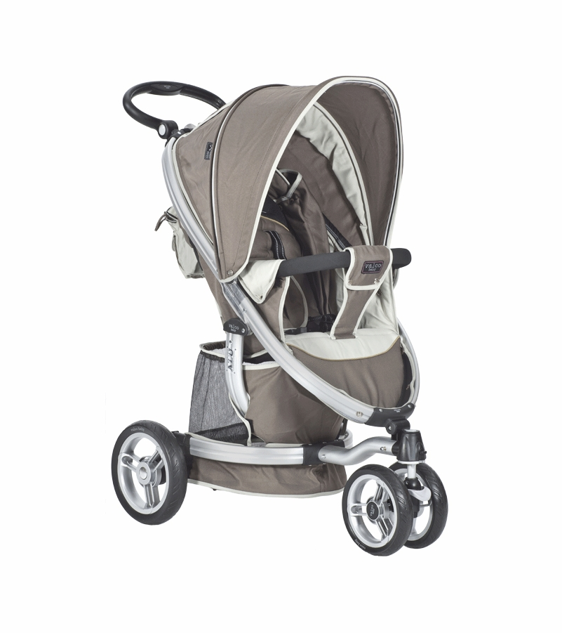 Valco Baby Single ION Stroller in Almond