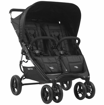 Valco Snap Duo Twin Stroller - Black Beauty