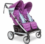 Valco Zee Two Double Stroller - Wisteria