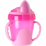 Vital Baby Two Handled Trainer Cup 7oz in Pink