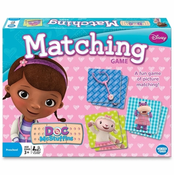 Wonder Forge Doc McStuffins Matching Game