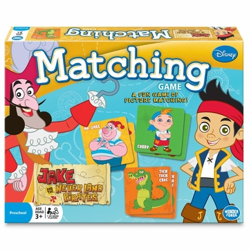 Wonder Forge Jake & The Neverland Pirates Matching Game