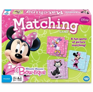 Wonder Forge Minnie Mouse Matching Game