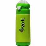 ZoLi Baby DASH 12 oz. Vacuum Insulated Straw Drink Bottle - Green