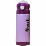ZoLi Baby DASH 12 oz. Vacuum Insulated Straw Drink Bottle - Purple