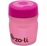 ZoLi Baby DINE 12 oz. Vacuum Insulated Food Jar - Pink