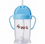 ZoLi BOT XL 9 oz. Straw Sippy Cup - Blue