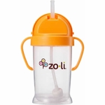ZoLi BOT XL 9 oz. Straw Sippy Cup - Orange