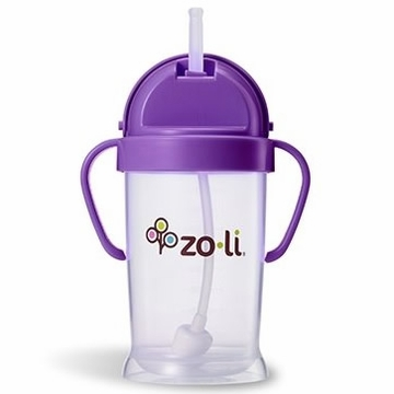 ZoLi BOT XL 9 oz. Straw Sippy Cup - Purple