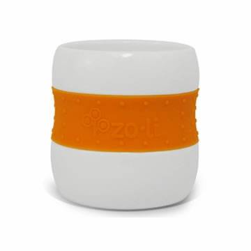 Zoli GULP Ceramic Tumbler - Orange