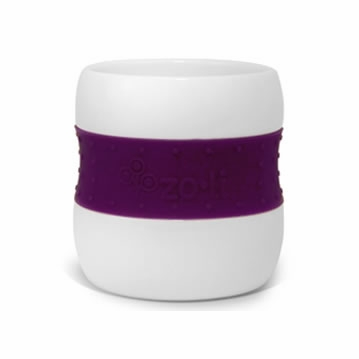 Zoli GULP Ceramic Tumbler - Purple