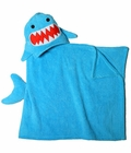 Zoocchini Kids Hooded Towel - Sherman the Shark