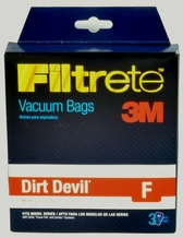 Dirt Devil Type F Vacuum Cleaner Bags T5702 3 pack