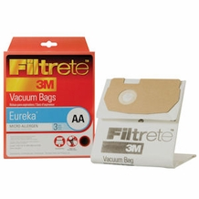 Eureka Type AA Vacuum Cleaner Bags 62618a 3 pack