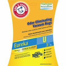 Eureka Type U Vacuum Cleaner Bags 62599 3 pack